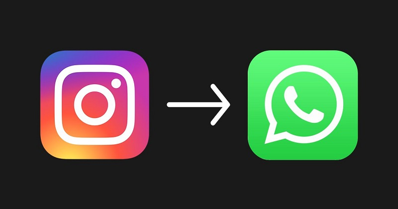 Connecting Instagram to WhatsApp